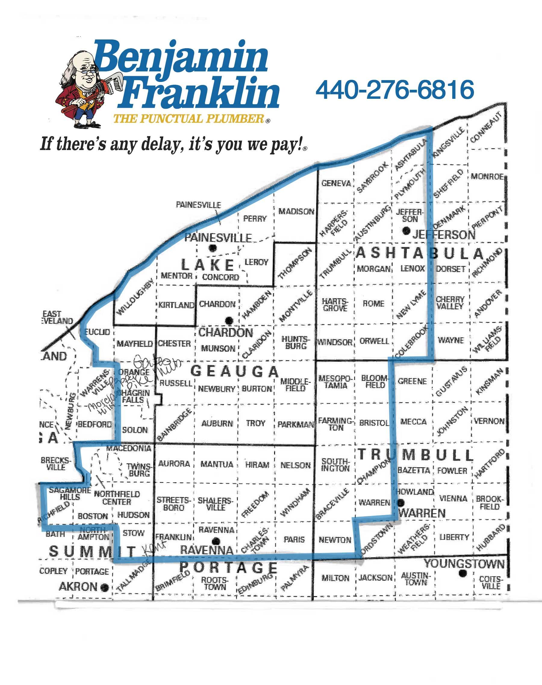 Plumbing Services Benjamin Franklin Plumbing